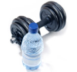 Water and weights