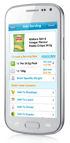 Nutracheck App